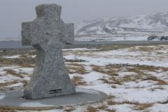 """La croix en mémoire des """"Islandais"""" de France"""